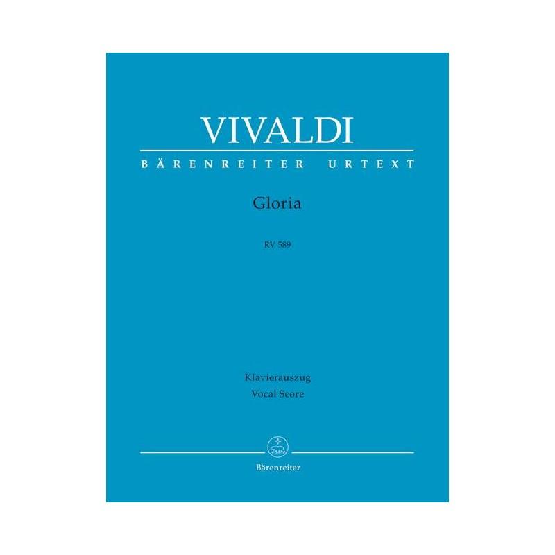 PARTITION GLORIA VIVALDI - KIOSQUE MUSIQUE AVIGNON