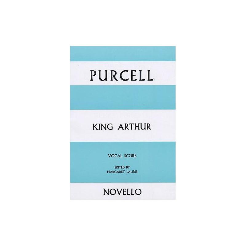PARTITION PURCELLE KING ARTHUR - KIOSQUE MUSIQUE AVIGNON