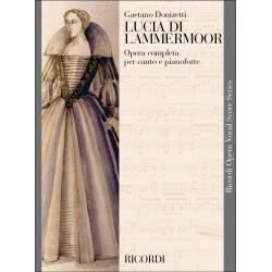 Partition LUCIA DI LAMMERMOOR - Kiosque musique Avignon