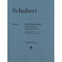 PARTITION PIANO SCHUBERT D946 - KIOSQUE MUSIQUE
