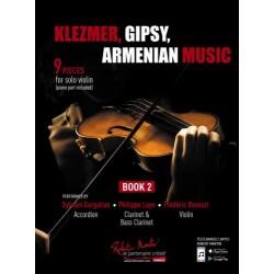 PARTITION VIOLON KLEZMER GIPSY ARMENIAN MUSIC - KIOSQUE MUSIQUE AVIGNON