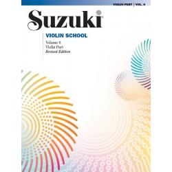 PARTITION SUZUKI VIOLON SCHOOL PART 6 - KIOSQUE MUSIQUE AVIGNON