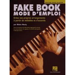 PARTITION FAKE BOOK MODE D'EMPLOI - KIOSQUE MUSIQUE AVIGNON