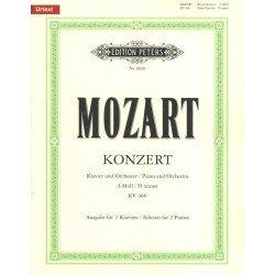 PARTITION PIANO MOZART CONCERTO N°20 - KIOSQUE MUSIQUE AVIGNON