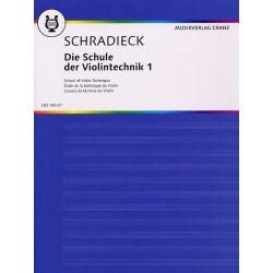 Partition violon Schriadeck volume 1 - Kiosque musique Avignon