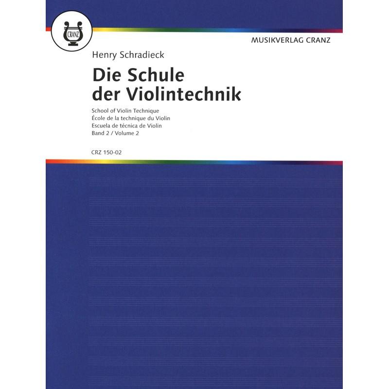 Partition violon Schradieck - Ecole technique 1 - Kiosque musique Avignon