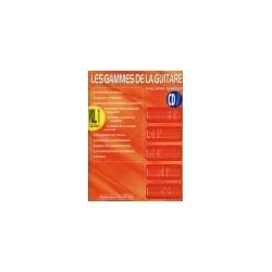 GAMMES DE LA GUITARE (LES) VOL 1 AVEC CD