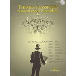 Partition THEMES CLASSIQUES pour l'accordéon - Kiosque musique Avignon