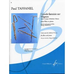 Taffanel Grande fantaisie sur Midnon - Partition flûte - Kiosque musique Avignon