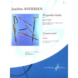 Partition flûte ANDERSEN Grandes Etudes - Kiosque musique Avignon