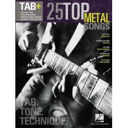 Partition guitare tablatures METAL - Avignon le kiosque à musique