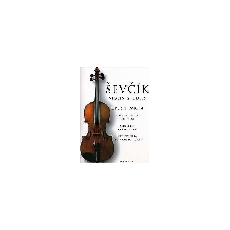 Partition violon SEVCIK Opus 1 Part 4 - Kiosque musique Avignon