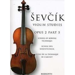 Partition violon SEVCIK opus 2 part 5 - Avignon kiosque à musique