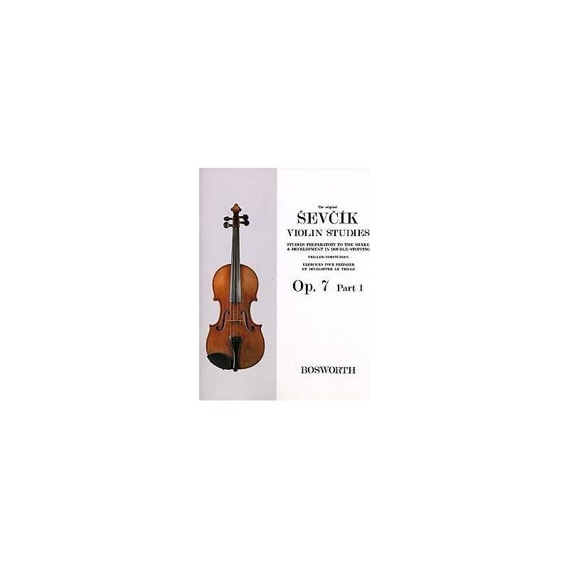Partition violon SEVCIK Opus 7 part 1 - Avignon Kiosque musique