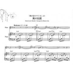 Partition flûte Princesse Monoke, Le Château ambulant, Le voyage de Chihiro - Kiosque musique Avignon