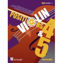 Partition violon Nico Dezaire Position 4 et 5 - Kiosque musique Avignon