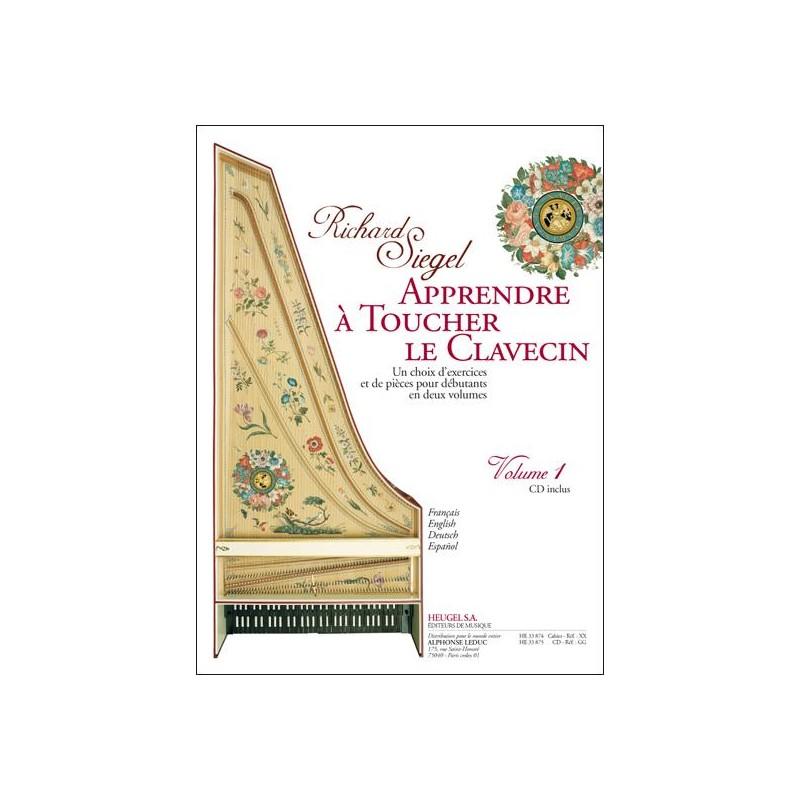 Richard Siegel Apprendre à toucher le clavecin - Kiosque musique Avignon