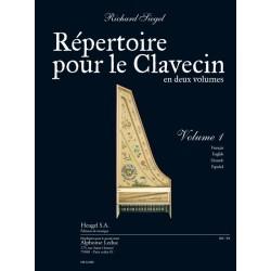 Partition Répertoire pour le clavecin - Kiosque musique Avignon