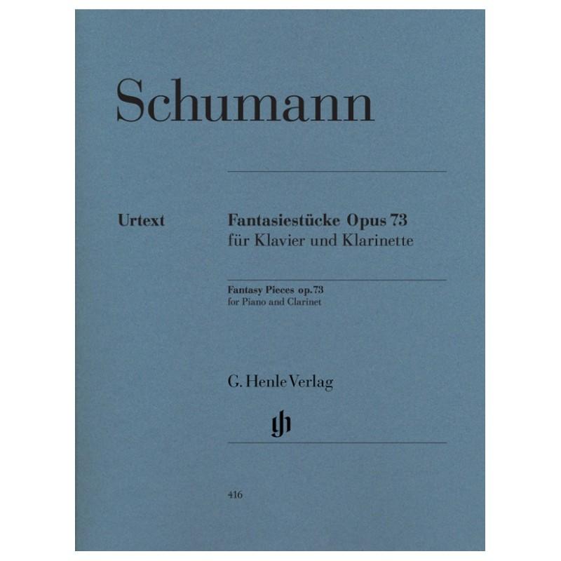 Partition clarinette Schumann Fantasiestücke - Kiosque musique Avignon