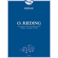 Partition violon Oskar Rieding Opus 25 - Dowani - Kiosque musique Avignon