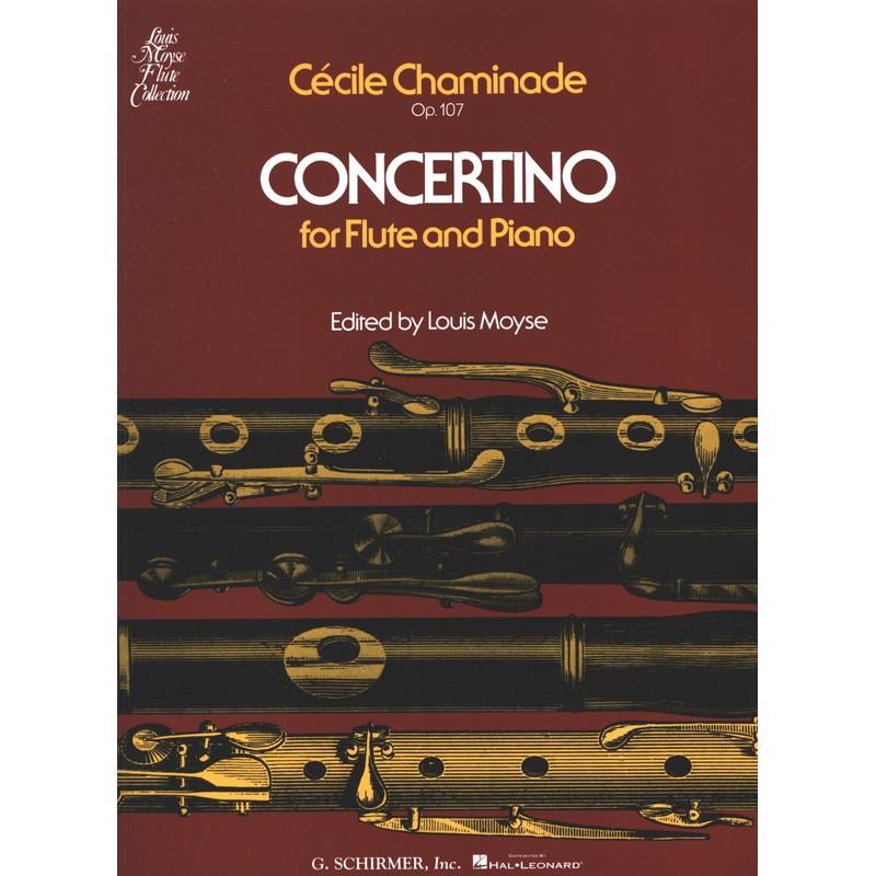 Partition Cécile Chaminade Concertino flûte - Kiosque musique Avignon