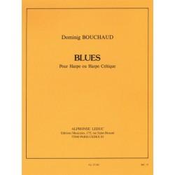 Partition harpe Dominig Bouchaud - BLUES - Kiosque musique Avignon