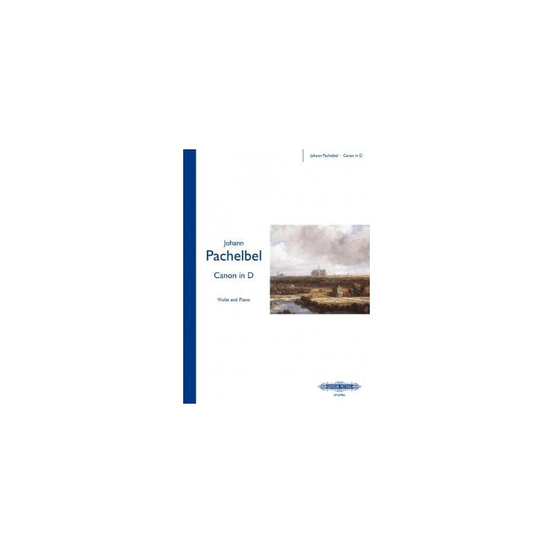Partition Canon de Pachelbel pour violon - Kiosque musique Avignon