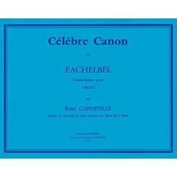 Partition orgue - Canon de Pachelbel - Kiosque musique Avignon