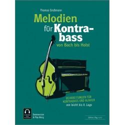 Partition MELODIEN für Kontrabass - Kiosque musique Avignon