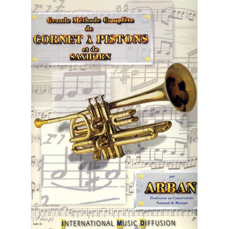 GRANDE METHODE COMPLETE DE CORNET A PISTONS ARBAN IMD41 Le kiosque musique Avignon