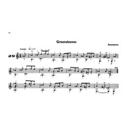 Partition guitare GREENSLEEVES - Kiosque à musique Avignon