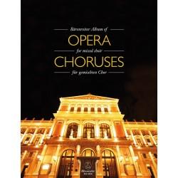 Partition CHOEURS D'OPERAS - Le kiosque à musique, librairie musicale Avignon