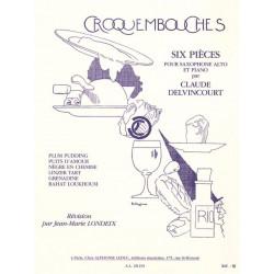 Partition CROQUEMBOUCHES de Delvincourt - Le kiosque à musique Avignon