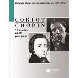 Partition Chopin Etudes Opus 25 - Avignon