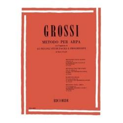 Méthode de harpe de Grossi ER2200 le kiosque à musique Avignon
