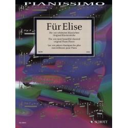 Partition FUR ELISE 100 schonsten klassischen origianl klavierstucke - Avignon