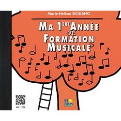 Ma 1ère année de formation musicale le CD - Le kiosque à musique Avignon