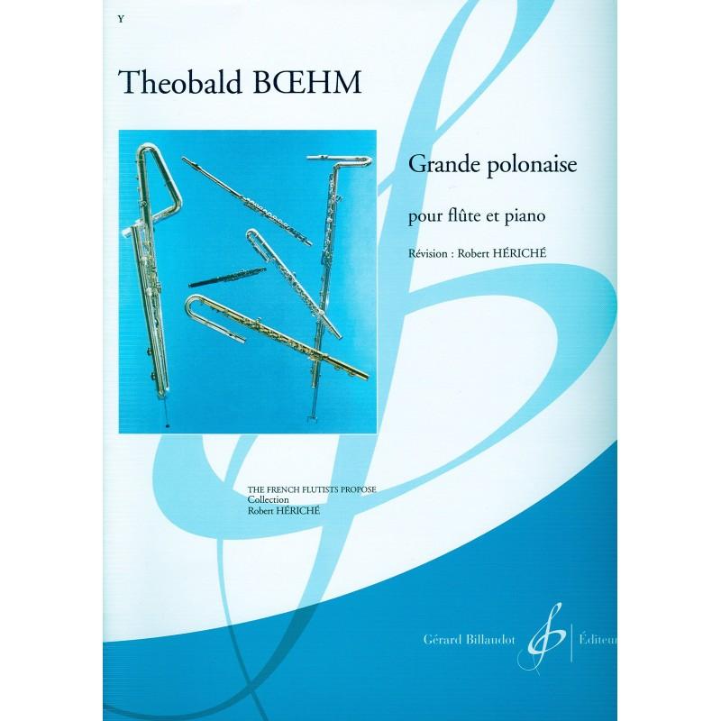 Partition flûte BOEHM GRANDE POLONAISE - Le kiosque à musique Avignon