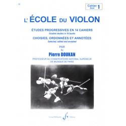 L'ECOLE DU VIOLON cahier 1 - Le kiosque à musique Avignon