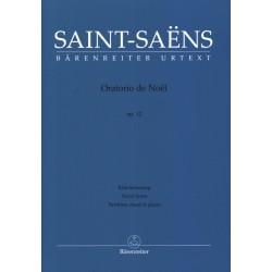 Partition SAINT-SAENS Oratorio de Noël - Le kiosque à musique, librairie musicale