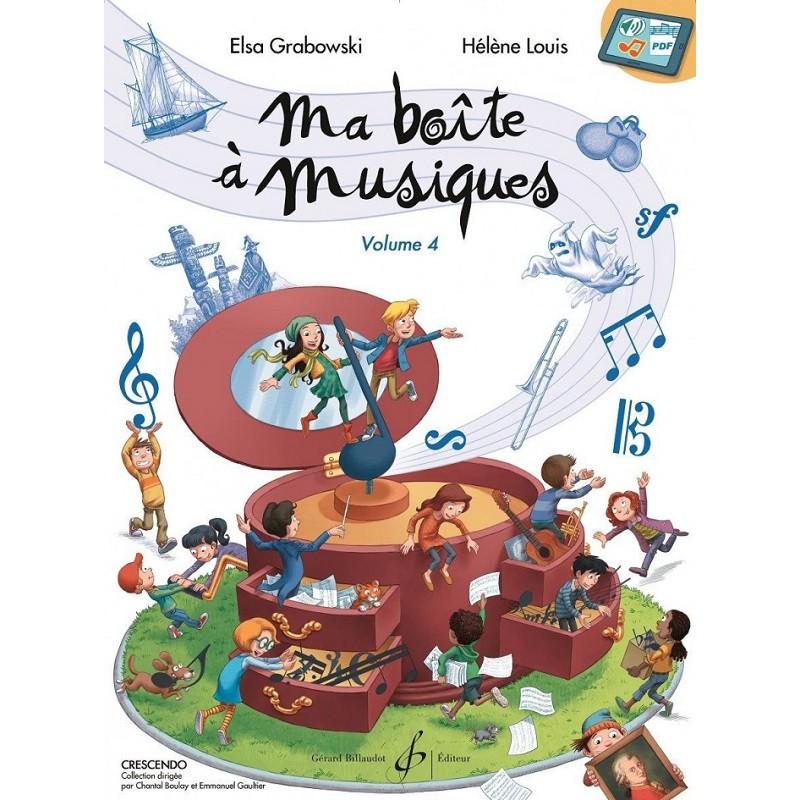 Ma boite à musiques volume 4 - Avignon