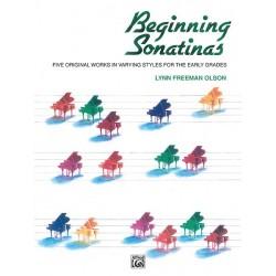 BEGINNING SONATINAS piano - Avignon