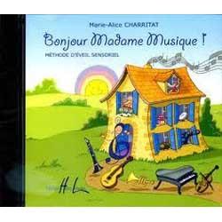 Bonjour Madame Musique le CD - Avignon
