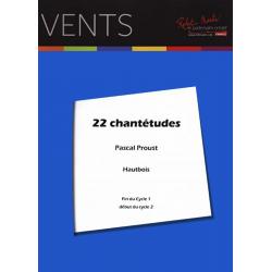 CHANTETUDES pour hautbois - Avignon