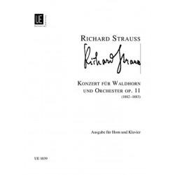 Partition Richard Strauss Concerto pour cor - Avignon
