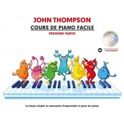 Cour de piano facile de John Thompson - Avignon