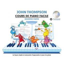 Cours de piano facile de John Thompson 2 - Avignon