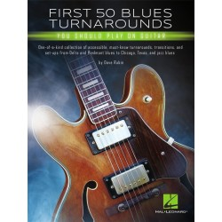 Tablatures first 50 blues turnaround - Avignon