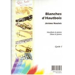 Partition BLAHCES D'HAUTBOIS de Jérôme Naulais - Avignon