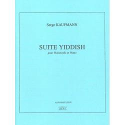 Partition SUITE YIDDISH de Kaufmann - Avignon